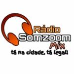 Logo da emissora Rádio Somzoom Mix FM