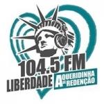 Logo da emissora Rádio Liberdade 104.5 FM