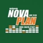 Logo da emissora Rádio Nova Plan 1510 AM