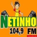 Logo da emissora Rádio Netinho FM