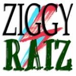 Logo da emissora Rádio Ziggy Raiz