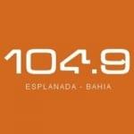 Logo da emissora Rádio Esplanada 104.9 FM