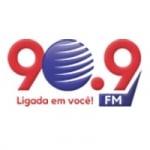 Logo da emissora Rádio Magia 90.9 FM