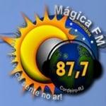 Logo da emissora Rádio Mágica 87.7 FM