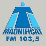 Logo da emissora Rádio Magnificat 103.5 FM