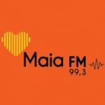 Logo da emissora Rádio Maia 99.3 FM