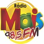 Logo da emissora Rádio Mais 98.5 FM