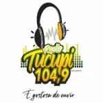 Logo da emissora Rádio Tucupi 104.9 FM