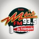Logo da emissora Rádio Mais FM 93.5