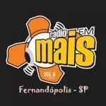 Logo da emissora Rádio Mais 105.9 FM
