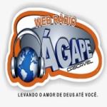 Logo da emissora Web Rádio Ágape Cascavel
