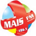 Logo da emissora Rádio Mais 106.1 FM