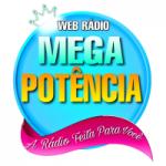 Logo da emissora Rádio Mega Potência