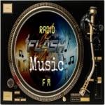 Logo da emissora Rádio Flash Music FM