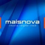 Logo da emissora Rádio Maisnova 104.3 FM