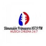 Logo da emissora Radio Dimensión Primavera 107.9 FM