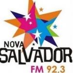 Logo da emissora Rádio Nova Salvador 92.3 FM