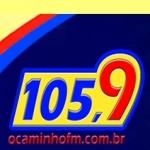 Logo da emissora Rádio O Caminho FM 105.9