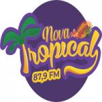 Logo da emissora Rádio Nova Tropical FM
