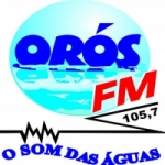 Logo da emissora Rádio Orós 105.7 FM