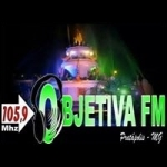 Logo da emissora Rádio Objetiva 105.9 FM