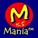 Logo da emissora Rádio Mania 95.5 FM