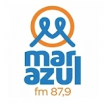 Logo da emissora Rádio Mar Azul 87.9 FM