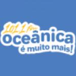 Logo da emissora Rádio Oceânica 101.1 FM