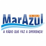 Logo da emissora Rádio Mar Azul 104.9 FM