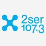 Logo da emissora Radio 2SER 107.3 FM