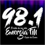 Logo da emissora Rádio Energia 98.1 FM