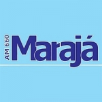 Logo da emissora Rádio Marajá 660 AM