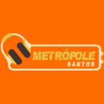 Logo da emissora Rádio Metrópole - Santos