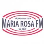Logo da emissora Rádio Maria Rosa 104.9 FM