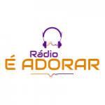 Logo da emissora Rádio É Adorar