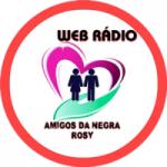 Logo da emissora Rádio Amigos da Negra Rosy