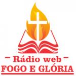 Logo da emissora Rádio Web Fogo e Glória