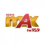 Logo da emissora Rádio Max 95.9 FM
