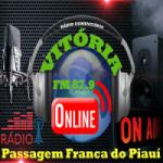 Logo da emissora Rádio Vitoria FM 87.9