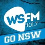 Logo da emissora Radio WSFM 101.7