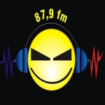 Logo da emissora Rádio Máxima 87.9 FM