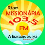 Logo da emissora Rádio Missionária Da Paz