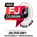 Logo da emissora Web Rádio FJ Cajarana