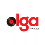 Logo da emissora Rádio Olga 102.9 FM