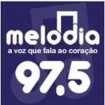 Logo da emissora Rádio Melodia 97.5 FM