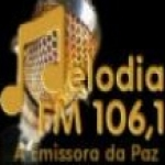 Logo da emissora Rádio Melodia 106.1 FM