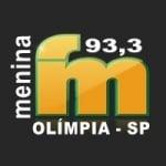 Logo da emissora Rádio Menina 93.3 FM