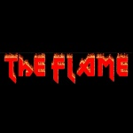 Logo da emissora KHEL 97.3 FM The Flame