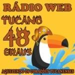 Logo da emissora Rádio Web Tucano 48 Graus
