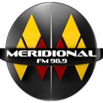 Logo da emissora Rádio Meridional 98.9 FM